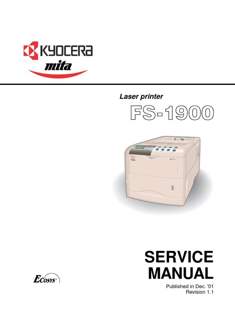 kyocera mita km 1650 km 2050 service repair manual download