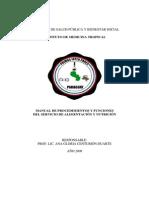 + MANUAL DE PROCEDIMIENTOS Y FUNCIONES  DEL SERVICIO DE ALIMENTACION.pdf