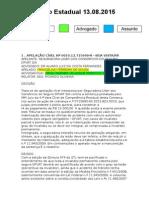Diário Estadual 13.08.2015