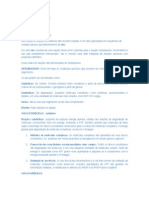 Bioquímica Veterinária Resumo Prova.