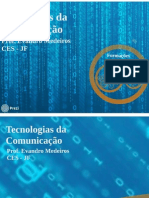 Tecnologias da Comunicação - aula