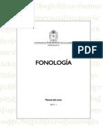 Curso y Manual de Fonologia 2015-1