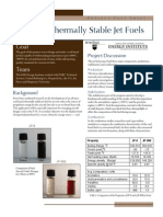 Advanced Thermally Stable Jet Fuels