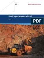 Product Overview to Road Layer Works Material
