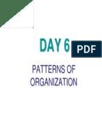 Day 5_patterns of Organization