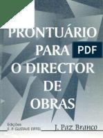 Prontuario Para o Director de Obras