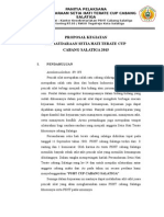 Proposal Pencak Silat PSHT Cabang Salatiga Cup