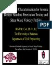 4 COX_Seismic Site Characterization(11!18!10)