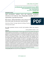 Lipid peroxidation, oxidative stress and respiratory metabolism alteration in the freshwater ciliate Paramecium tetraurelia exposed to cypermethrin, a pyrethroid insecticide