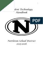 student technology handbook pdf