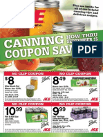 Seright's Ace Hardware Canning Coupon Savings