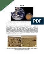 "Planeta Terrestre ""Marte"""