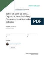 Organizaciones sociales y medios de comunicación en El Salvador