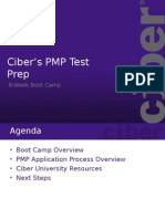 1.0 Class One - CIBER's PMP Boot Camp Presentation