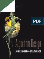 Algorithm Design - Jon Kleinberg and Eva Tardos, Tsinghua University Press (2005)