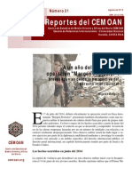 Reportes del CEMOAN No. 21