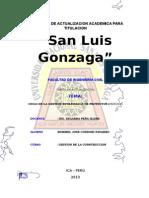 Programa de Actualizacion Academica Para Titulacion