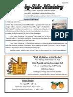 Newsletter, August 2015