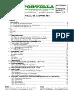 Manual Cabo de Aço