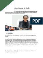 Pride of Pakistan Nayyar Ali Dada