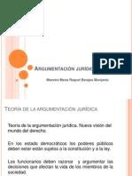 Argumentación Jurídica. María Raquel Barajas