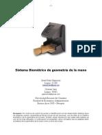 Biometria Gometria de La Mano