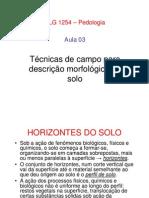 FLG 1254-Pedologia Aula 03