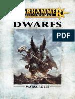Warhammer Aos Dwarfs Fr