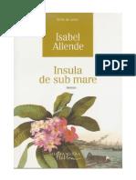 Isabel Allende - Insula de Sub Mare