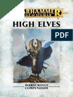 Warhammer Aos High Elves Fr