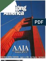 AAJA Convention 2001 SF Program Book