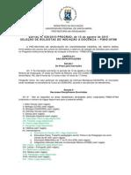 SELEÇÃO DE BOLSISTAS DE INICIAÇÃO À DOCÊNCIA – PIBID/UFSM