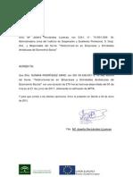 Certificado Acreditativo Teletutor