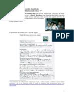 Esempio di sviluppo integrato delle abilità linguistiche - Classe 3° primaria