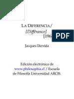 Derrida Diferencia