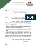 OFICIO Para Informe Implemntación PAT