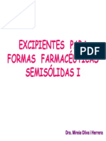 Excipients Ff Semisolides-I
