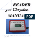 Pincode Reader for Chrysler