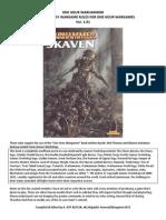 One Hour Warhammer Skaven Module