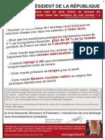 Parution pleine page le Parisien 13 novembre 2012
