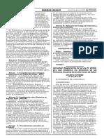 DS. 027-2015-SA - Reglamento de La Ley 29414, Ley Que Establece Los Derechos de Las Personas Usuarias de Los Servicios de Salud
