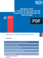 Ranking Sec 2013