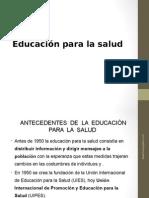 Educacon Para La Salud