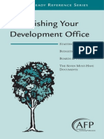 7 Establishing Development Office