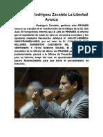 Congresista Elías Rodríguez Zavaleta gestiona ante PRONIED reinicio de obras en II Etapa de I.E. San Juan