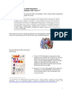 Esempio di sviluppo integrato delle abilità linguistiche - Classe 5° primaria