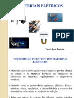 ME 01 Introdução Materiais Eletricos
