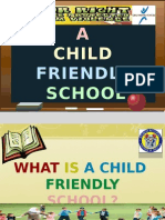 Special Topics - Child-Friendly School