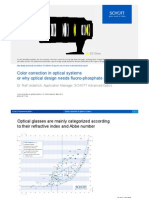 Schott Fluoro Phosphate Glasses May 2014_Low Dispersion for Secondary Chromatic