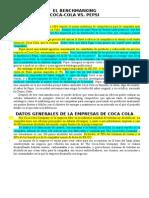 Monografia - Benchmarking de Coca-Cola vs. Pepsi - Resumen